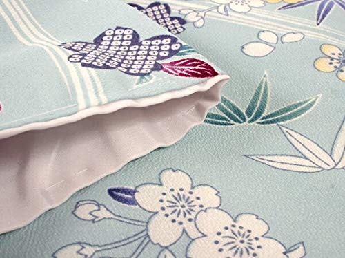 きもの京小町 洗える着物 袷 セット 4点セット レディース 小紋 モダン 古典 花 名古屋帯