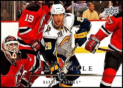 0598d5041 2008-09 Upper Deck  177 Jason Pominville NM-MT Buffalo Sabres Oficial NHL