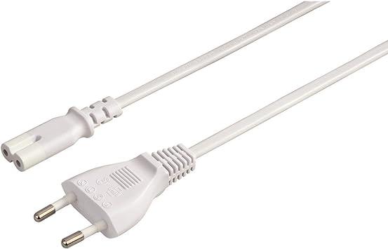 50 x Stromkabel für Netzteile mit Eurostecker 2pin-Kabel Euro Netzkabel VDE CE