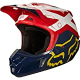 2018 Fox Racing V2 Preme Helmet-Navy/Red-XL