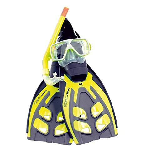 Salvas Tonic Dive, Set Pinna E Maschera Unisex Adulto