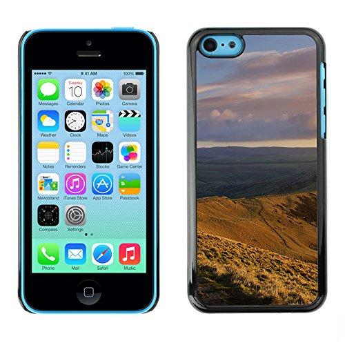 Premio Sottile Slim Cassa Custodia Case Cover Shell // F00025381 Boundless vallée // Apple iPhone 5C