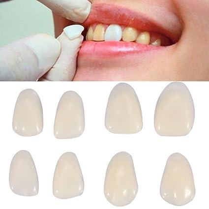 70pcs dentales diente temporal corona tipo dientes carillas
