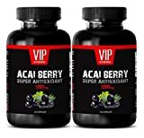 cleanse max ii - Energy Supplements for Men - ACAI Berry 1200MG - Super ANTIOXIDANT - acai max Detox - 2 Bottles (120 Capsules)