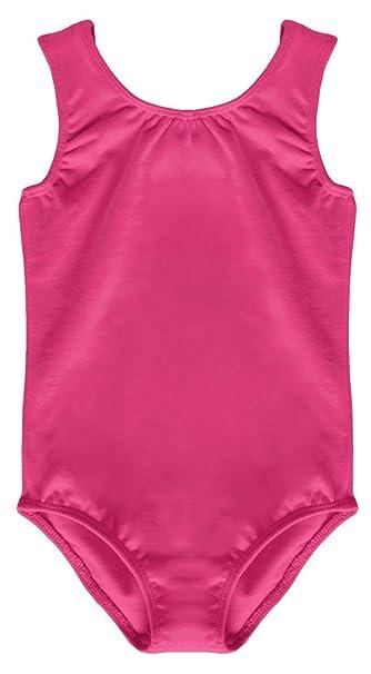 a2fe3d012189 Dancina Leotard Tank Top Ballet Gymnastics Front Lined Comfy Cotton ...