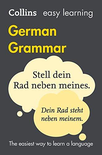 Collins Easy Learning German – Easy Learning German Grammar|-|0008142009