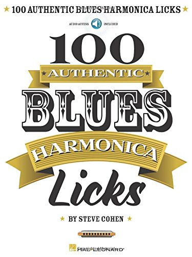 100 Authentic Blues Harmonica - Harmonicas Sam Ash