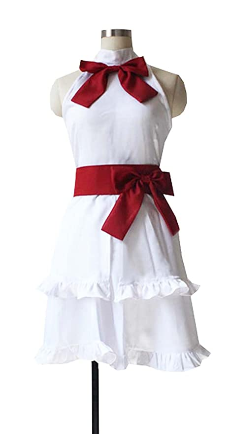 Amazon com: Dreamcosplay Anime Fairy Tail Wendy Marvell White Dress