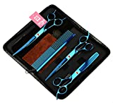 Best LILYS PET Grooming Scissors - LILYS PET Professional PET Grooming scissors Kit,Coated Titanium,Sharp Review