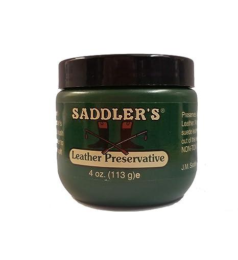 Saddler de Cuero conservantes - 4oz (113g): Amazon.es: Deportes y ...