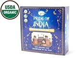 Pride Of India - Organic Darjeeling Black Tea, 100 Tea Bags