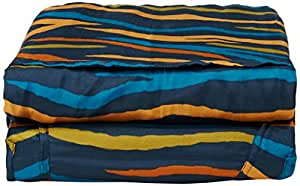 Cocoon Silk MummyLiner (Afr Night, 95-Inch x 35/22-Inch)