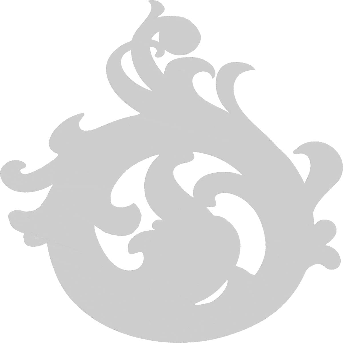 Ekena Millwork APLC015X015FYTUF-L Applique White