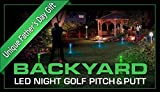 Night Sports USA Backyard LED Night Golf Pitch and Putt Set