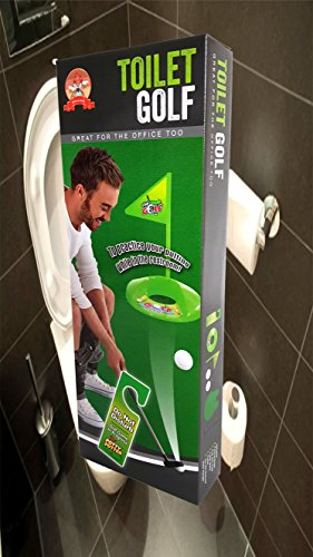 Toilet Golf, Putter Practice in the Bathroom with this Potty Putter, By Barwench™