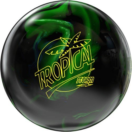 Storm Tropical Storm Bowling Ball- Black/Lime