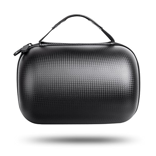 HomePod Travel Case, Carry Bag With Holding Strap Drop, Protection Dust Cover Shockproof Carrying Case For Apple HomePod Speaker (Black) by BESTAND (Image #3)