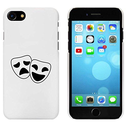 Blanc 'Masques de Comédie et de Tragédie' étui / housse pour iPhone 7 (MC00081782)