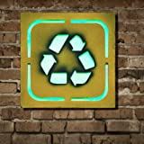 Neon Signs for Bar and Mancave- Bar Signs Retro- Neon Lights for Mancave Decor- Home, Room and Wall Decor (Recycle) 9.4 x 2 x 9.4 inches