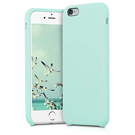l'ultimo 99a00 17e70 kwmobile silicone cover case for Apple iPhone 6/6S - TPU Case with rubber  cover - Cover in Mint Matte