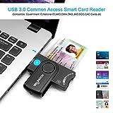 USB 3.0 Smart Card Reader, Rocketek DOD Military