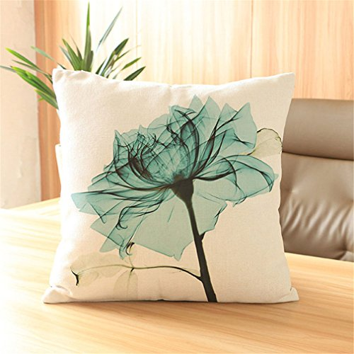 Sub Mianma Creative Hand-Painted Flowers Digital Printing Home Furnishing Bed Cushion Pillow And Pillow Sales Office Car Sub Reviews