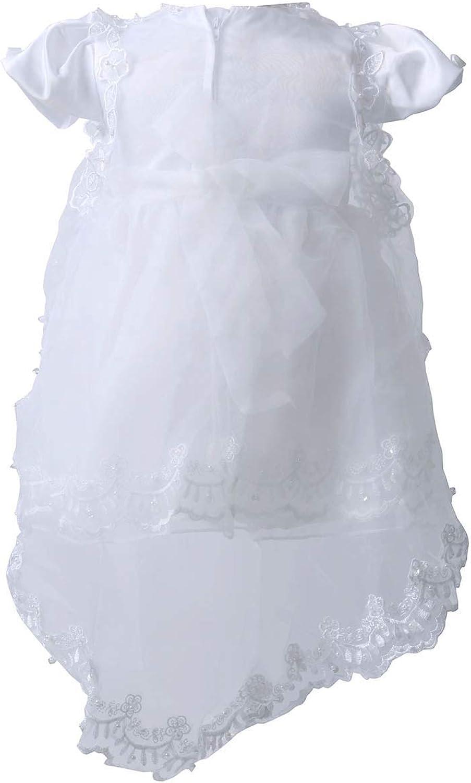 BabyPreg Vestido de Fiesta de cumplea/ños para Bautizo de Bautizo para ni/ñas