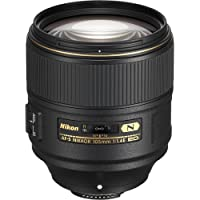 Nikon AF-S FX NIKKOR 105mm f/1.4 ED Lens with Auto Focus for Nikon DSLR Cameras (Certified Refurbished)