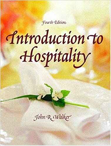 Introduction to hospitality 4th edition john r walker introduction to hospitality 4th edition john r walker 9780131191013 amazon books fandeluxe Gallery