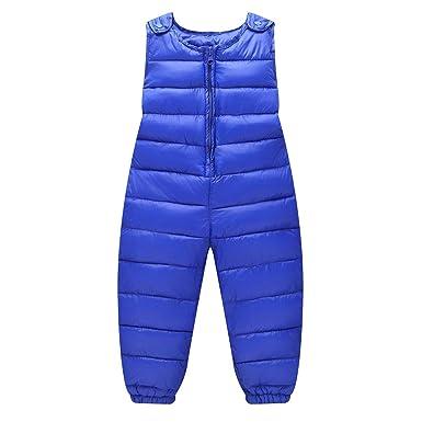 3f3eedb60 LSERVER Unisex Baby Girl Boy Down Cotton Ski Bib Pants Kid Winter ...