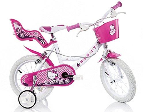 164R-HK Hello Kitty 16-Zoll- Mädchen Velge Bremse Rose