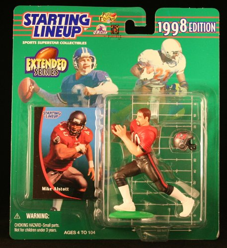Mike Alstott Nfl - MIKE ALSTOTT / TAMPA BAY BUCCANEERS 1998 NFL * EXTENDED SERIES * Starting Lineup Action Figure & Exclusive NFL Collector Trading Card