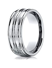 Benchmark® 8mm Comfort Fit Wedding Band / Ring