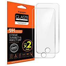 iPod Touch 6th / 5th Screen Protector, Spigen® [Tempered Glass] [2 Pack] for Apple iPod Touch 6th / iPod Touch 5th