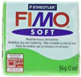 Fimo Soft Polymer Clay 2 Ounces-8020-53 Tropical Green