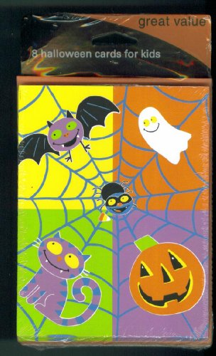 American Greetings Halloween Cards. Happy Halloween. 8 Cards 8 Envelopes. Includes Cards Sent Checklist.