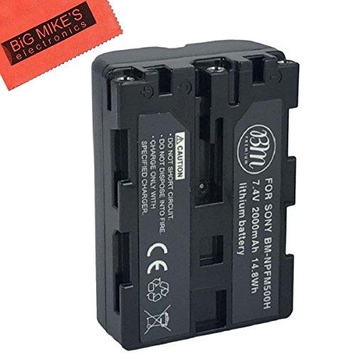 BM Premium NP-FM500H Battery for Sony Alpha a77II, a68, SLT-A57, A58, A65V, A77V, A99V, A100, A200, A300, A350, A450, SLT-A500, SLT-A550, SLT-A560, SLT-A580, SLT-A700, SLT-A850, SLT-A900 DSLR Camera