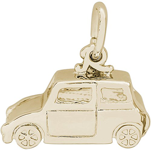 Car Charm Gold Plated - 5