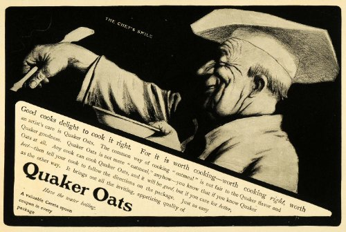 vision statement of quaker oats company Employee team designs flexible benefits program  at the quaker oats company,  the group established the following vision statement:.