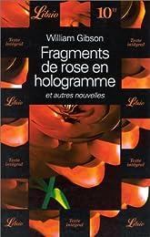 Fragments de rose en hologramme