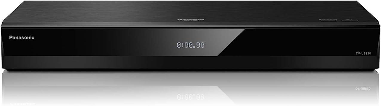 Black Streaming 4K Ultra HD Wi-Fi Built-in Blu-Ray Player DP-UB420 Panasonic