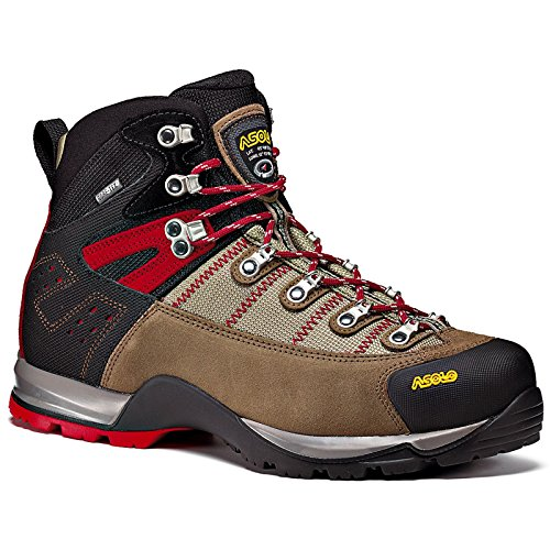 Asolo Men's Fugitive GTX Hiking Boots, Wool / Black, 10 2E US - Asolo Fugitive Gtx