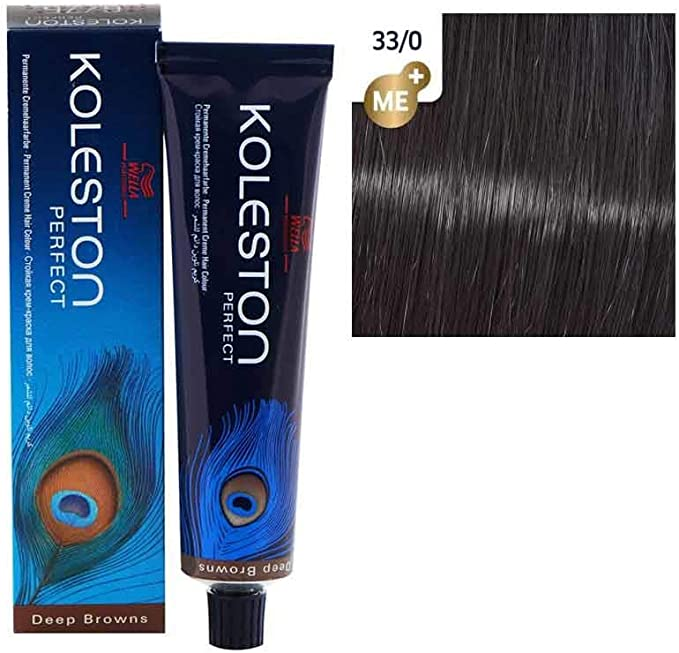 Wella Professionals KP Tinte Permanente, Tono 33/0 (Deal) - 60 ml