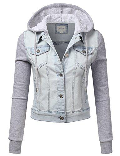 Junior Fashion Denim Jacket - 2