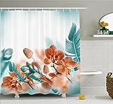 Tropical Decor Shower Curtain