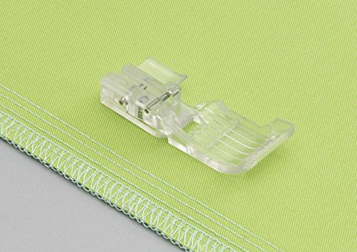 Babylock ''Clear Foot for Overlock'' (BLE8-CLF) [Ovation & Evolution] for Exclusive Use! Serger Machine by Baby Lock