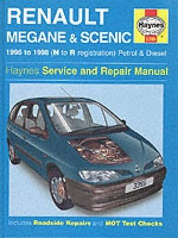 renault megane and scenic service and repair manual haynes service rh amazon co uk renault scenic ii repair manual renault megane ii manual de taller