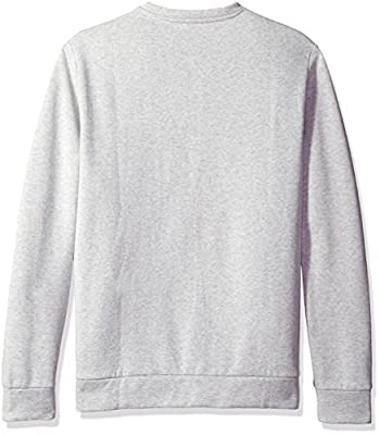 Calvin Klein Men's Long Sleeve Color Block Ck Logo Crew Neck T-Shirt