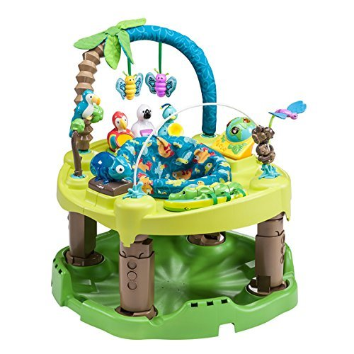 Evenflo ExerSaucer Triple Fun Saucer in Life in the Amazon Review