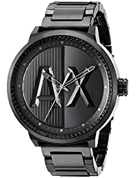 Armani Exchange AX1365de los hombres reloj de cuarzo analógico Negro de la visualización analógico